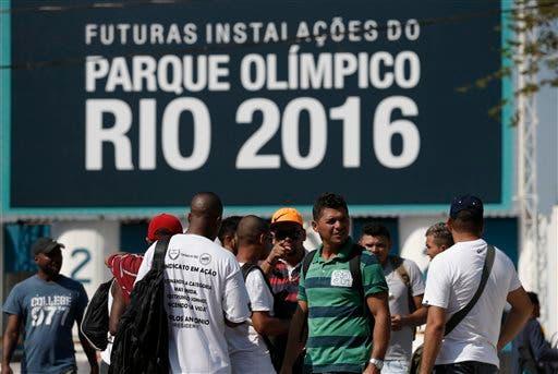 Río: Sigue huelga en el Parque Olímpico