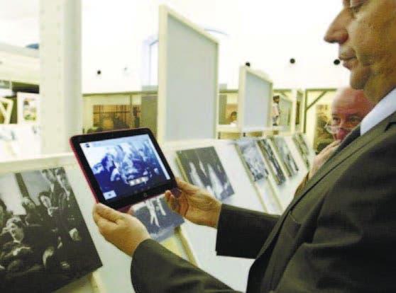 A través de una aplicación, los visitantes podrán interactuar