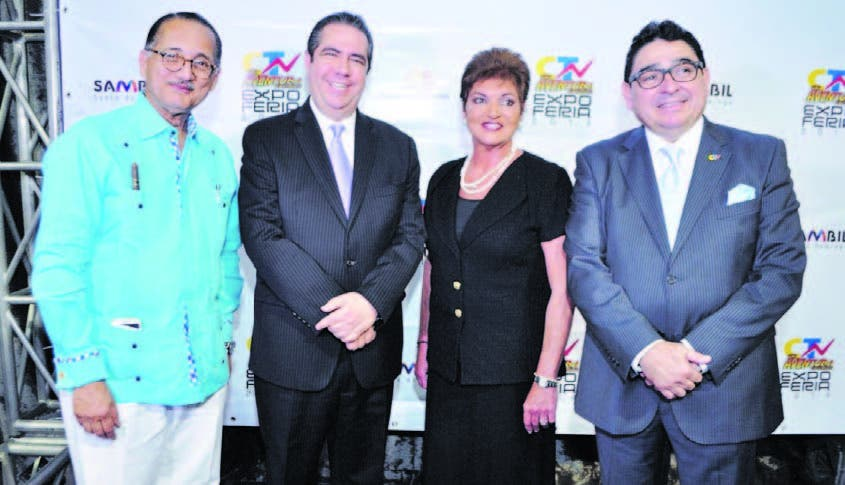 Arturo Villanueva, Francisco Javier, Fanny Cohen y Miguel Calzada