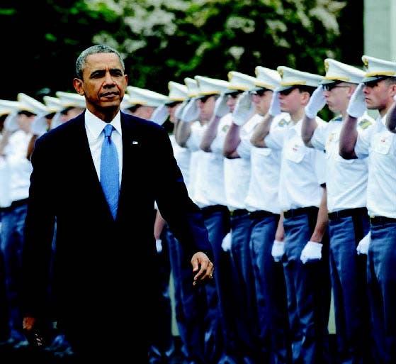 Barack Obama habló en una graduación de oficiales en West Point, NY
