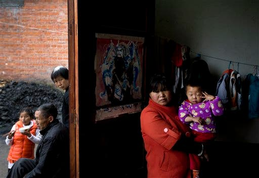CHINA-MIGRACION RURAL