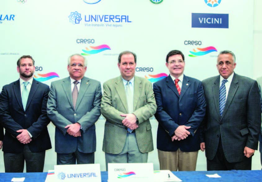 Eduardo Najri, Ernesto Izquierdo, Felipe Vicini, Julio Brache y Luisín Mejía