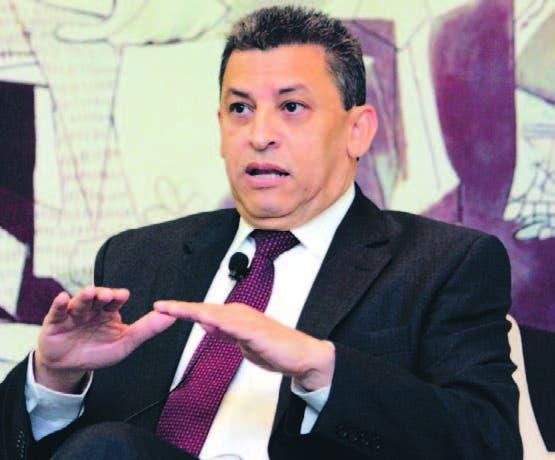 El director de Aduanas, Fernando Fernández