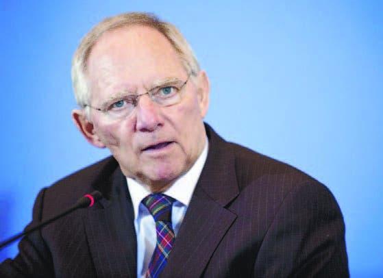 El ministro de Economía de Alemania,   Wolfgang Schaeuble,  guarda recelo sobre la amenaza del BCE