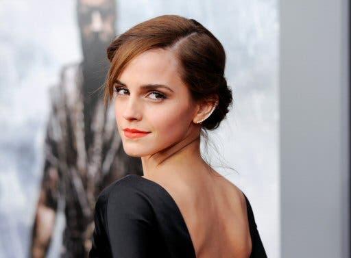 """Emma Watson presenta los avances de la campaña """"He for She"""" de ONU Mujeres"""