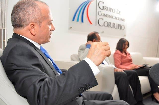 El pais.Dr.Lorenzo Wilfredo Hidalgo, Ministro de Salud en el Almuerzo Del Grupo de  Comunicación Corripio.Hoy/Pablo Matos    28-05-2014