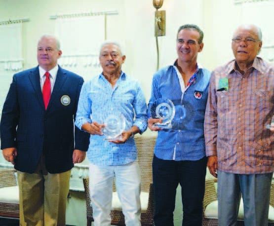 Juan Cohén, Carlixto Gabriel, Juan Velázquez y Frank   Micheli