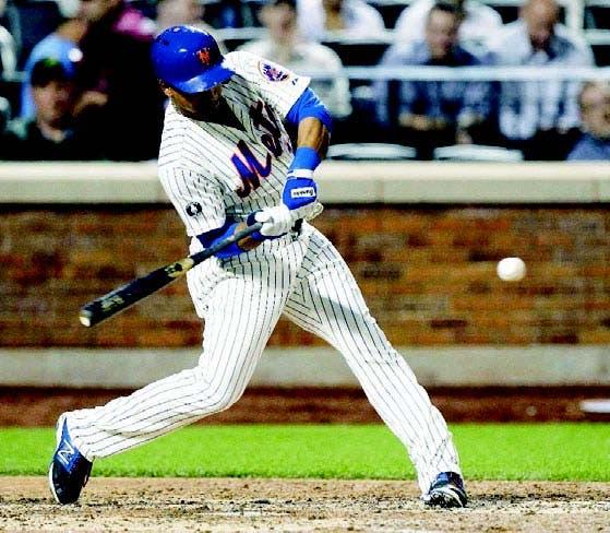 Juan Lagares conectó el hit de oro en la victoria de los Mets