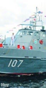 La Armada detuvo la yola y a los