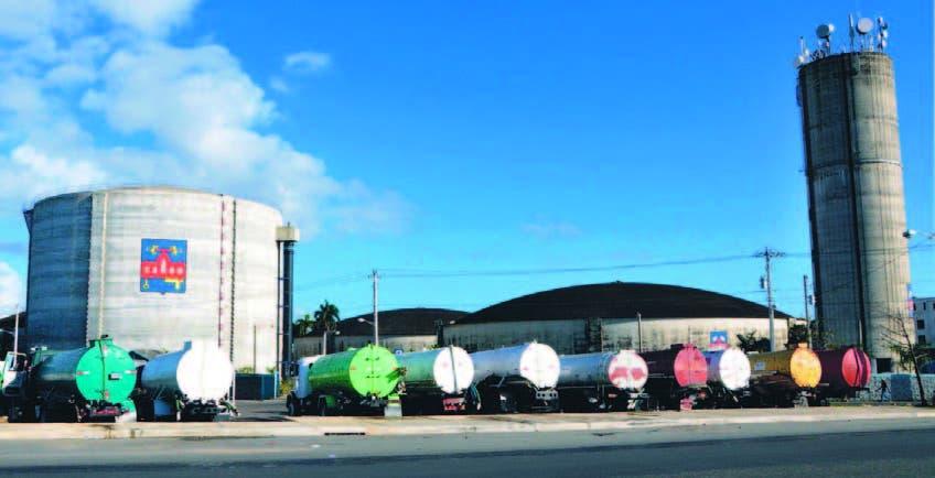 La CAASD destacó trasvases que realiza en tanques de almacenamiento para garantizar suministro agua
