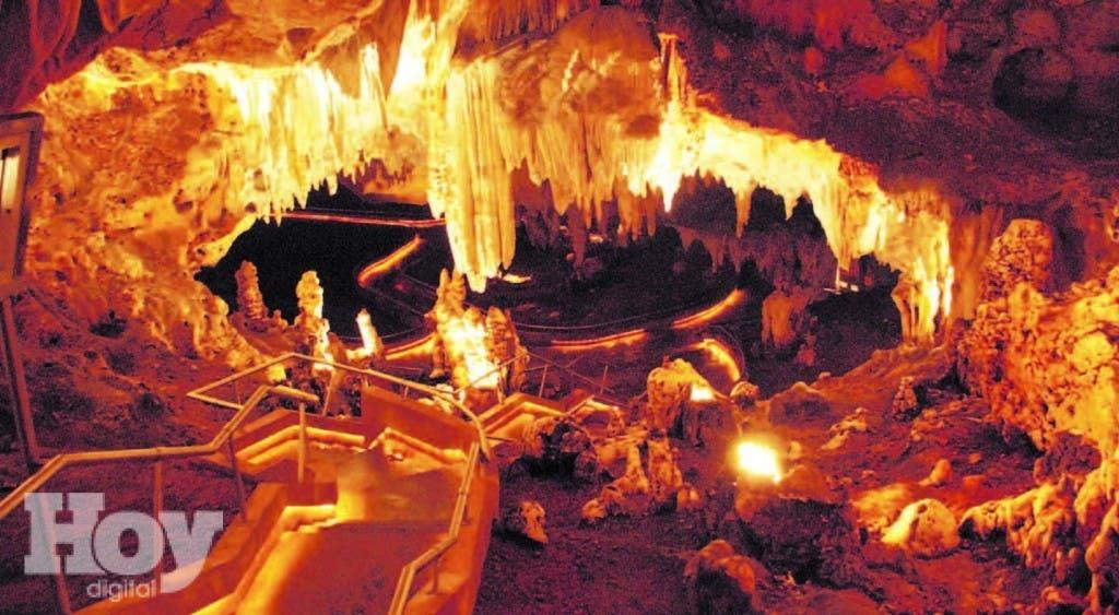 La bellísima Cueva de las Maravillas, en  San Pedro de Macorís