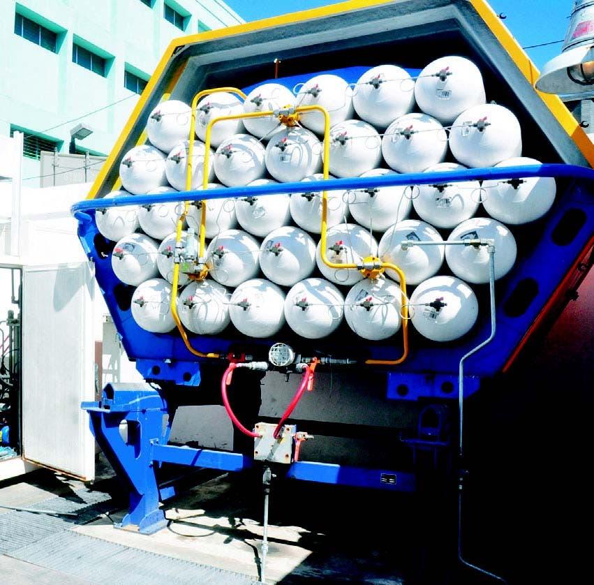 La conversión a gas natural contribuiría a reducir las emisiones de dióxido de carbono