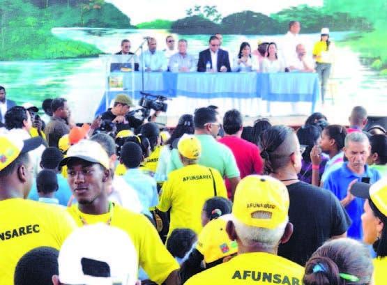 """Lanzamiento campaña """"Río espejo de mi barrio"""" a orillas del Isabela"""