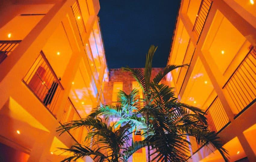 Las instalaciones del Billini Hotel en la Ciudad Colonial