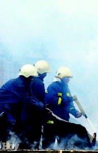 Los bomberos llegaron tarde