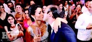 Los recién casados Laura Ramos y Tito Elías. Alejandro Núñez Frómeta