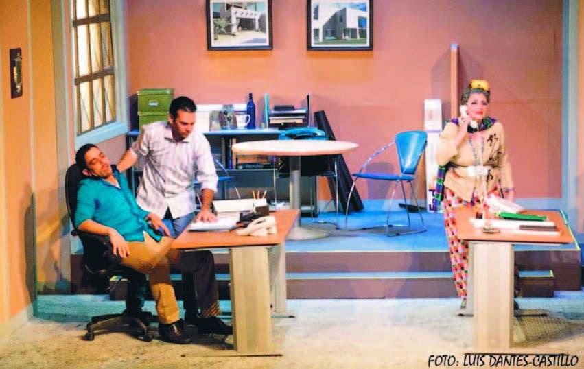 Luis José Germán, José Roberto Díaz y Karla Hatton, protagonistas de la obra dirigida por Enrique Chao