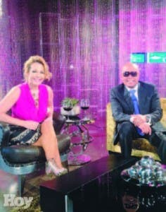 Luz García y Rubby Pérez