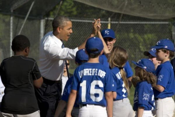 Obama beisbol