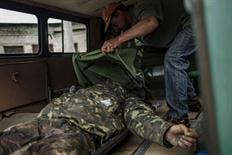 Prorrusos matan a  tiros a 17 soldados al este de UcraniaG