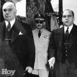 Rafael Leónidas Trujillo y su hermano Héctor Bienvenido Trujillo