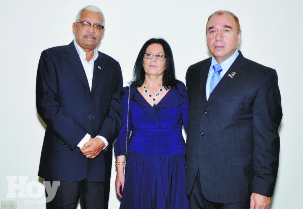 Ricardo Rodríguez, Nora Mansour y Bahij Mansour