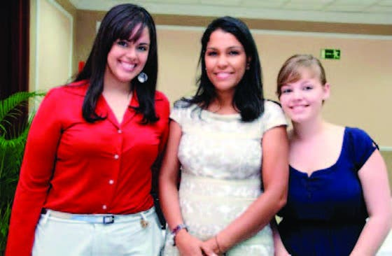 Rocío Abreu, Ana Andrea Coste y Matilde Cleret