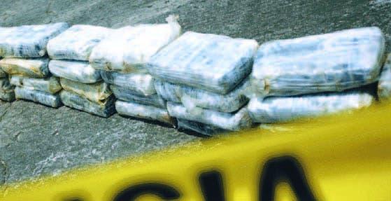 Paquetes de cocaína.