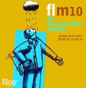 Uno de los afiches de la Feria del Libro de Madrid de 2013