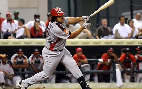 Willie Otañez, bateador designado los Broncos de Reynosa. Foto/Fuente Externa