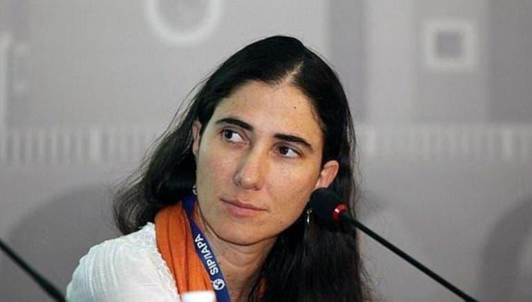 Yoani Sánchez, bloguera cubana.