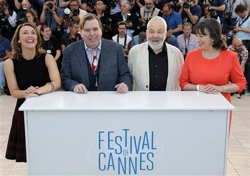 Dorothy Atkinson, Timothy Spall, Mike Leigh, Marion Bailey