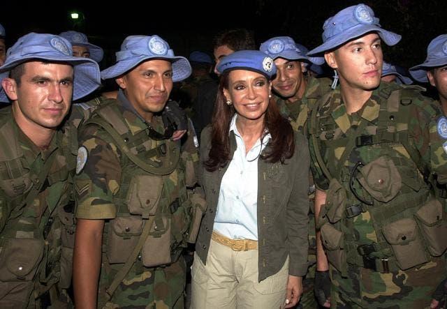 cascos azules argentinos