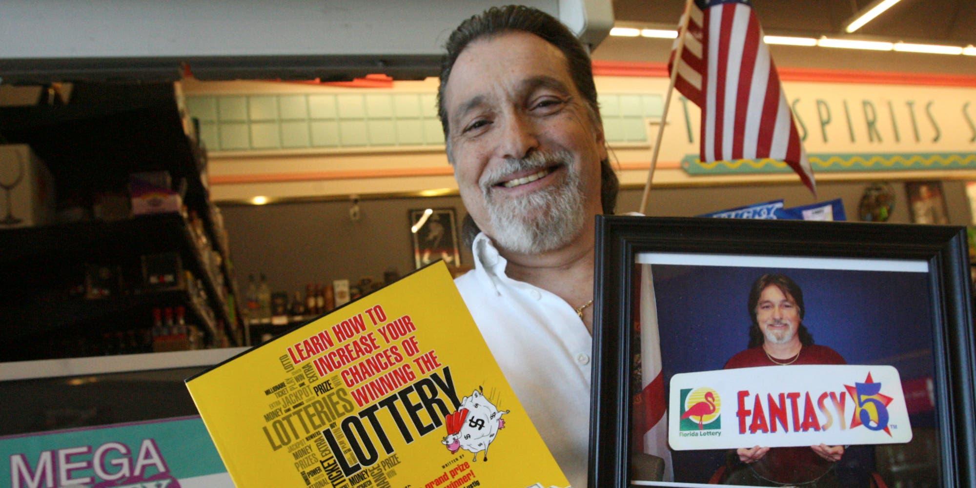 Hombre que ha ganado siete veces la lotería comparte su secreto