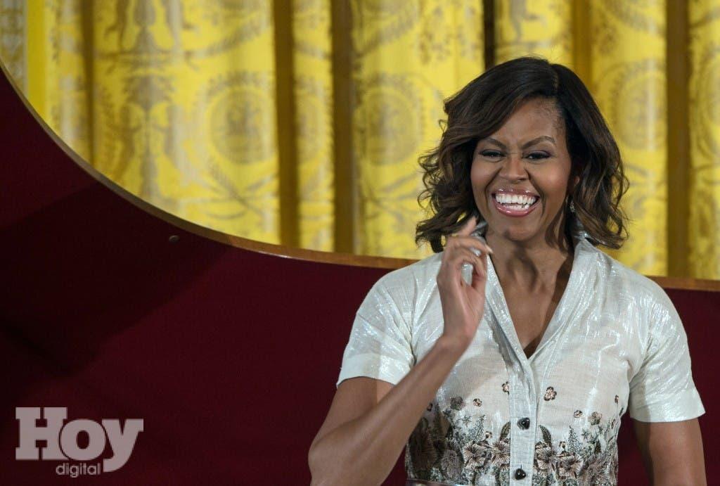 Michelle Obama assails plan to lower school lunch standards