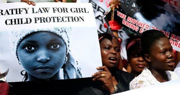 Aeronave busca a secuestradas en Nigeria