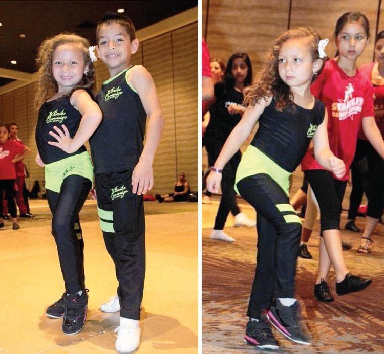 niños bailan salsa