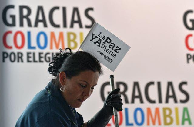 COLOMBIA-ELECTION-RESULTS-SANTOS