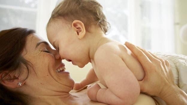 ternura de una madre