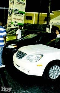 vendores carros