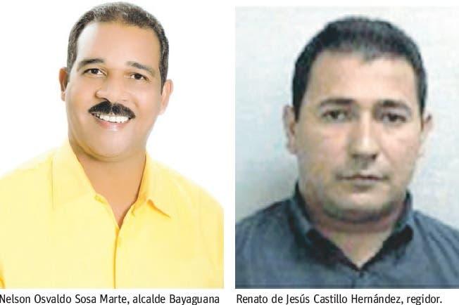 Alcalde y regidor