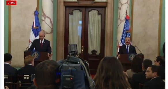 Danilo y Biden