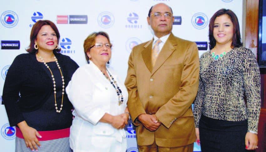 Dary Bernardino, Gloria Ceballos, Luis Antonio Luna Paulino y Elizabeth Robles