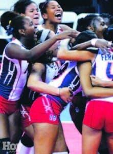 Dominicanas celebran triunfo