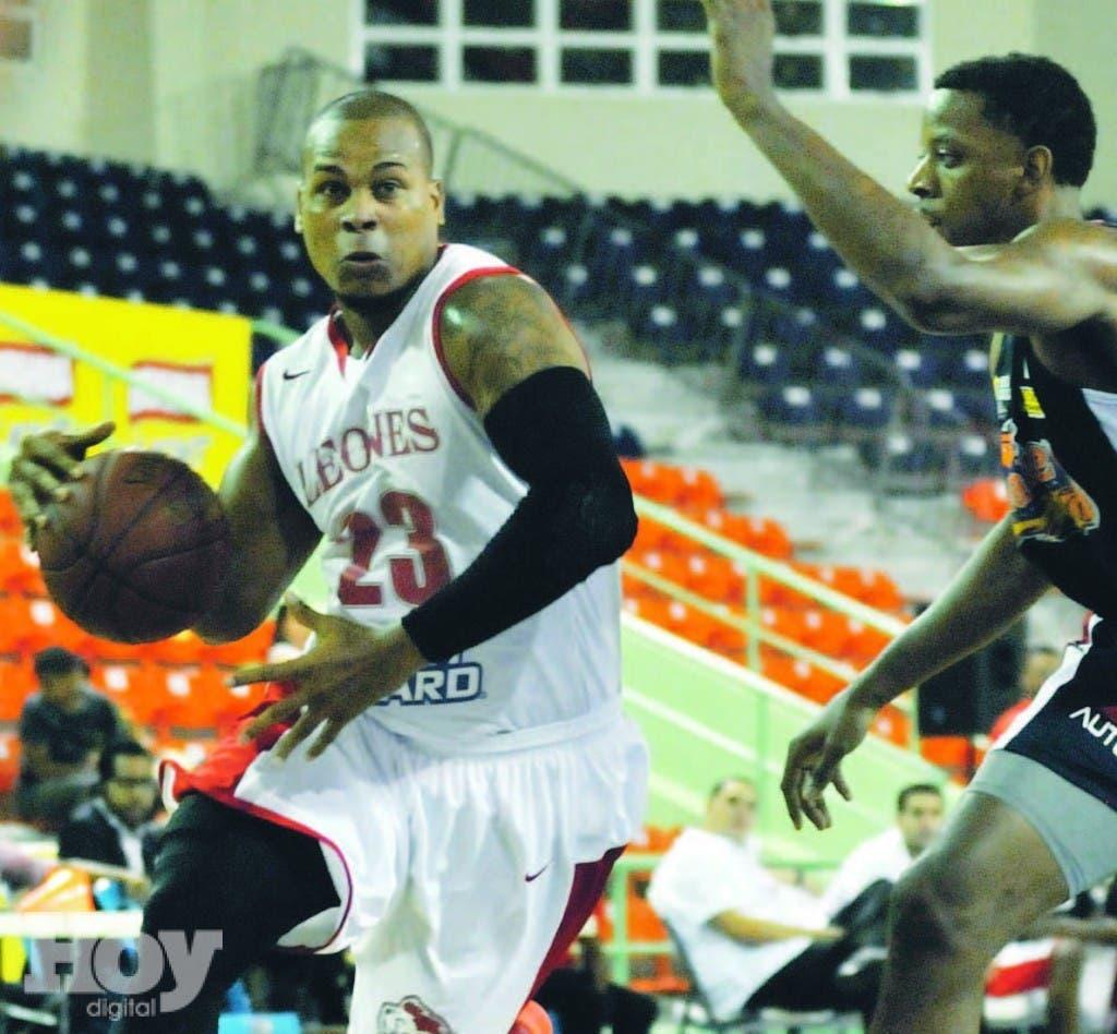 El Triunfo de anoche fue el numero nueve de los Leones de Santo Domingo en el basket de LNB
