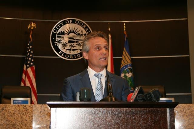 El alcalde de Doral, Luigi Boria1234