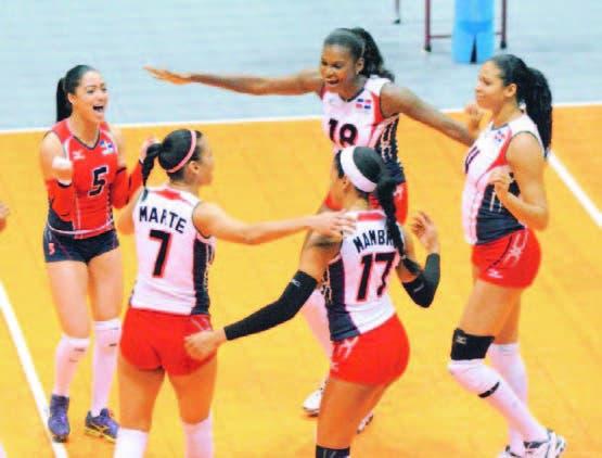 El equipo dominicano celebra su pase a la final en la Copa Panam