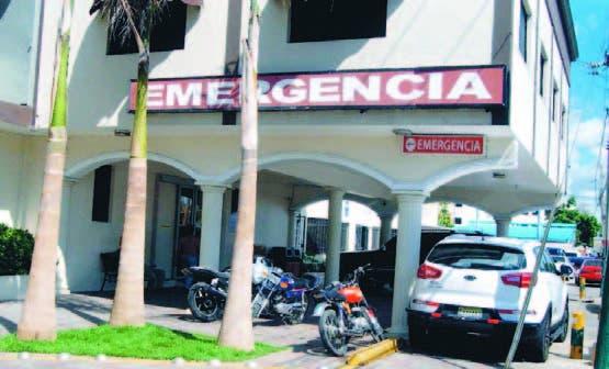 Emergencia de una clínica de Santo Domingo afiliada a Andeclip