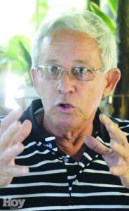 Jhonny Weber, uno de los hombres de absoluta confianza de Amaury Germàn Aristy, trabajó estrechamente con Caamaño en Cuba