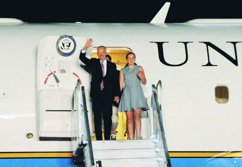 Joe Biden arriba al país para reunirse con el presidente Danilo Medina y con la legación de los EE.UU